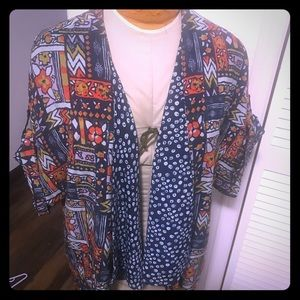 Anthropologie Women's multicolored Blouse/ Top